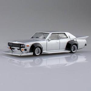 1/64スケール ダイキャストミニカー グラチャンコレクション BEST2 [6.330セドリック 1977年式 (330):シルバー]【 ネコポス不可 】|toysanta
