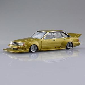 1/64スケール ダイキャストミニカー グラチャンコレクション BEST2 [9.30レパード 1980年式 (F30):ゴールド]【 ネコポス不可 】|toysanta