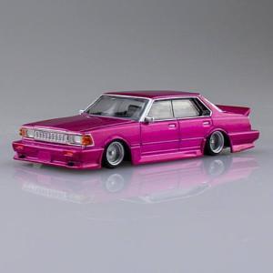 1/64スケール ダイキャストミニカー グラチャンコレクション BEST2 [12.430セドリック 1981年式 (430):ピンク]【 ネコポス不可 】|toysanta