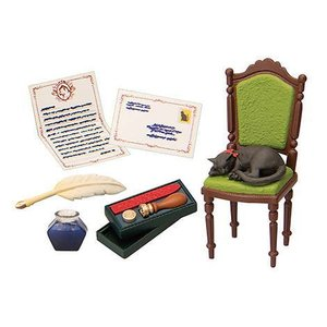 ぷちサンプルシリーズ Antique Shop 黒猫堂 [8.お客様のいない時間は…]【 ネコポス不可 】(RM)|toysanta