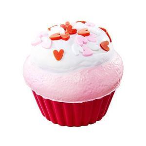 超低反発スクイーズ もっちりカップケーキ [2.ラズベリーハート]【 ネコポス不可 】(RM) toysanta
