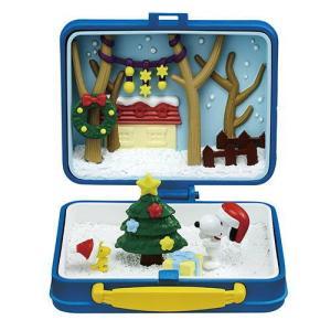 スヌーピー SNOOPY & WOODSTOCK リトルランチボックスミュージアム [2.クリスマス]【 ネコポス不可 】(RM)|toysanta