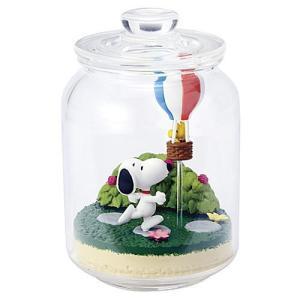 SNOOPY & WOODSTOCK Everyday Terrarium (スヌーピー エブリデイ テラリウム) [4.気球を飛ばそう]【 ネコポス不可 】(RM)|toysanta