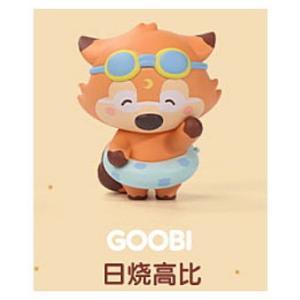 POPMART GOOBI THE KID FOX 子狐ちゃん達の夏の思い出シリーズ [1.GOOBI:A]【 ネコポス不可 】|toysanta