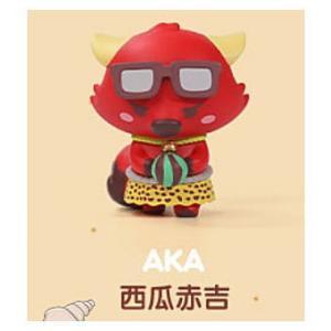 POPMART GOOBI THE KID FOX 子狐ちゃん達の夏の思い出シリーズ [3.AKA]【 ネコポス不可 】|toysanta