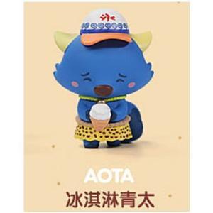 POPMART GOOBI THE KID FOX 子狐ちゃん達の夏の思い出シリーズ [4.AOTA]【 ネコポス不可 】|toysanta