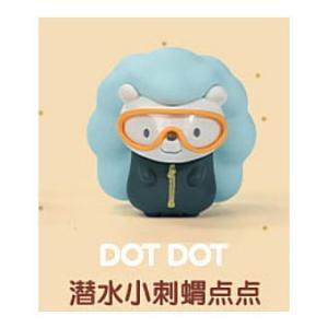 POPMART GOOBI THE KID FOX 子狐ちゃん達の夏の思い出シリーズ [10.DOT DOT]【 ネコポス不可 】|toysanta