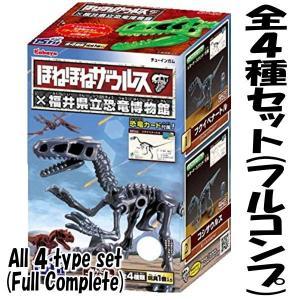 【全部揃ってます!!】ほねほねザウルス×福井県立恐竜博物館 第2弾 [全4種セット(フルコンプ)]【 ネコポス不可 】|toysanta