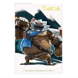 ゼルダの伝説 ブレスオブザワイルド カード&キャンディ [7.キャラクターカード7:ダルケル]【ネコポス配送対応】|toysanta
