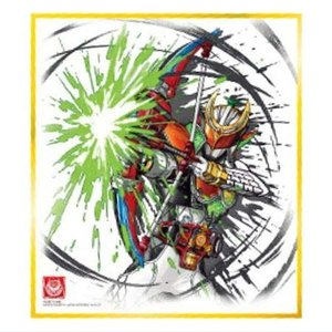 仮面ライダー 色紙ART5 [7.仮面ライダー斬月・真]【ネコポス配送対応】