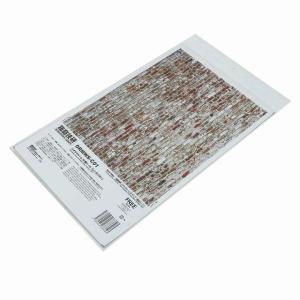箱庭技研 ジオラマルームM 壁シール レンガ [DRMWS-C01]●【 ネコポス不可 】|toysanta