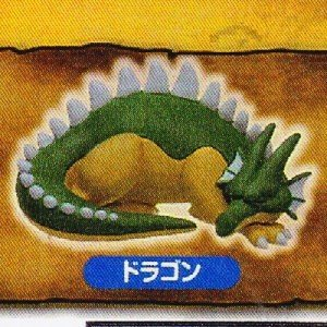ドラゴンクエスト モンスターパレード すやすやフィギュア カプセル編 [4.ドラゴン]●【ネコポス配送対応】(20034) toysanta