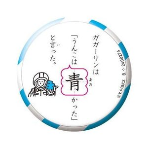 うんこ漢字ドリル うんこ漢バッ字 色々な色のうんこを集めよう [8.青いうんこ]【ネコポス配送対応】