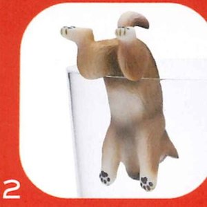 PUTITTO 柴犬 SHIBAINU [2.胡麻毛(ぶらさがり)]【ネコポス配送対応】|toysanta