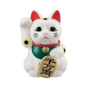 カプセルジャポン まねき猫 [1.白猫]【 ネコポス不可 】|toysanta