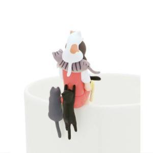コップのフチ子6 新色 [6.ねこまみれのフチ子]【ネコポス配送対応】|toysanta