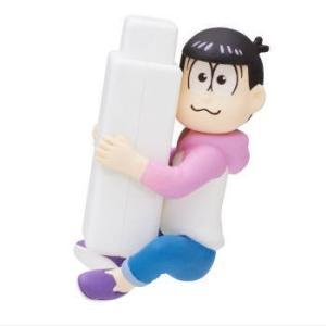 おそ松さん 抱きつきケーブルカバーマスコット [6.トド松]【ネコポス配送対応】|toysanta