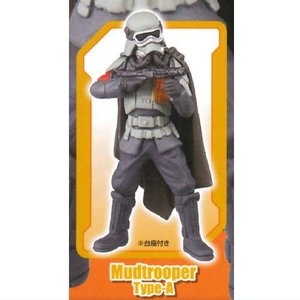 STARWARS スターウォーズ デスクトップ ギャラクティック・エンパイア フィーチャリング ハン・ソロ [4.Mudtrooper Type-A]●【ネコポス配送対応】 toysanta