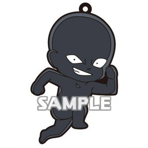 名探偵コナン 犯人がいっぱいラバーストラップ [1.走って犯行現場に向かう犯人]【ネコポス配送対応】|toysanta