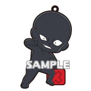 名探偵コナン 犯人がいっぱいラバーストラップ [3.ポリタンクを持ちほくそ笑む犯人]【ネコポス配送対応】|toysanta