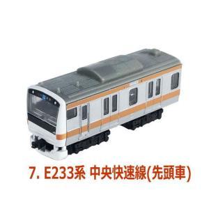 Bトレインショーティー in カプセル [7.E233系 中央快速線(先頭車)]【 ネコポス不可 】