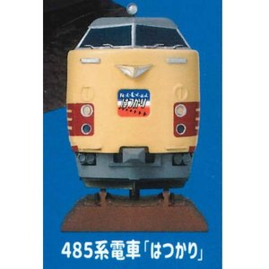 カプセルエース HOトレインヘッドコレクションVol.1 [2.485系電車「はつかり」]【 ネコポ...