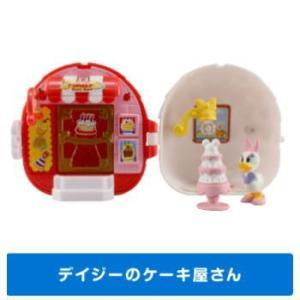 ディズニーキャラクター ガチャプレイハウス [3.デイジーのケーキ屋さん]【 ネコポス不可 】|toysanta