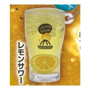 おとなの炭酸!キーチェーン [4.レモンサワー]【ネコポス配送対応】|toysanta