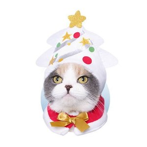 ねこのかぶりもの第26弾 かわいいかわいい ねこクリスマスちゃん ホワイトクリスマス [5.ツリー]【ネコポス配送対応】 toysanta