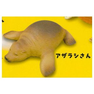 のんびりのほほん お昼寝アニマル [4.アザラシさん]【ネコポス配送対応】|toysanta