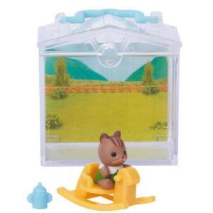シルバニアファミリーかざれる赤ちゃんハウスとお庭3 [1.赤ちゃんハウス くるみリスの赤ちゃん&木馬]【 ネコポス不可 】|toysanta