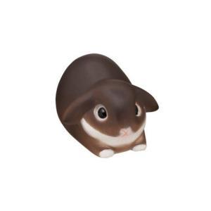 ntc.Puff うさぎ マスコット(再販) [2-B.ホーランド・ロップ チョコレートオター(箱座り)]【ネコポス配送対応】|toysanta