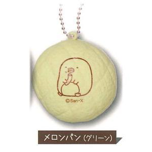 すみっコぐらし ふわふわBREADコレクション [3.メロンパン(グリーン)]【ネコポス配送対応】 toysanta