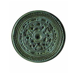 歴史ミュージアム 埴輪と土偶+土器&青銅器(再販) [2.三角縁神獣鏡]【ネコポス配送対応】 toysanta