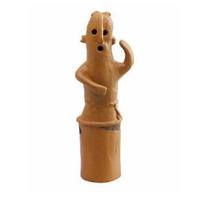 歴史ミュージアム 埴輪と土偶+土器&青銅器(再販) [3.踊る埴輪(男性)]【ネコポス配送対応】 toysanta