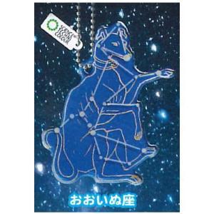 サイエンステクニカラー 冬の星座 蓄光アクリルマスコット [5.おおいぬ座]【ネコポス配送対応】|toysanta