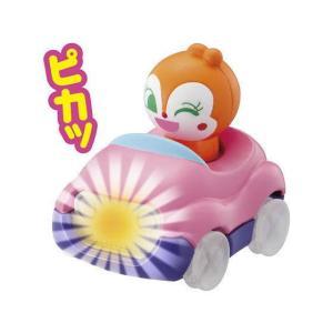 てころがし わくわくカー!アンパンマン [2.ドキンちゃん(光る!)]【 ネコポス不可 】|toysanta