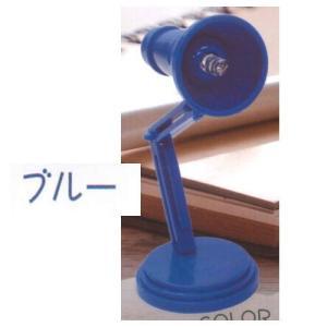 クリップ付きLEDデスクライト [2.ブルー]【ネコポス配送対応】|toysanta