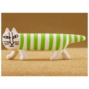 カプセルQミュージアム リサ・ラーソン マイキー Mikey Lots of cats Collection [3.グリーン(Green cat)]【ネコポス配送対応】|toysanta