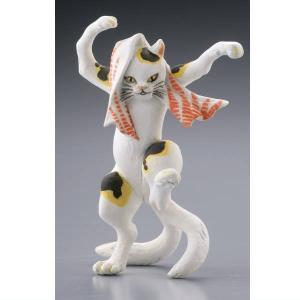 カプセルQミュージアム 歌川国芳 猫の立体浮世絵美術館(再販) [1.踊る猫又]【ネコポス配送対応】|toysanta