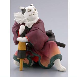 カプセルQミュージアム 歌川国芳 猫の立体浮世絵美術館(再販) [3.猫久兵衛]【ネコポス配送対応】|toysanta