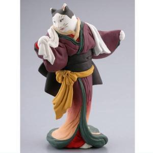 カプセルQミュージアム 歌川国芳 猫の立体浮世絵美術館(再販) [4.猫松山]【ネコポス配送対応】|toysanta