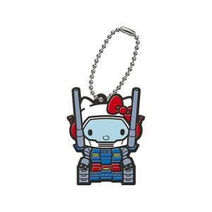 GUNDAM × HELLO KITTY カプセルラバーマスコット [3.ガンタンク]【ネコポス配送...