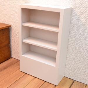 ミニチュア家具 白い棚 [IM65248] [m-s][imp]【 ネコポス不可 】