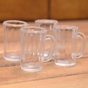 ミニチュア雑貨 ビールジョッキ 4個セット (プラスチック製) [DM211] [m-s][m-s] 【ネコポス配送対応】|toysanta