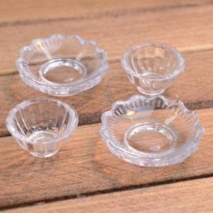 ミニチュア雑貨 ボール 4個セット (プラスチック製) [DM206] [m-s][m-s] 【ネコポス配送対応】|toysanta