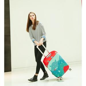 旅行用品 スーツケースカバー S/M/l/XLサイズ対応 擦り傷 保護 汚れ ターンテーブル 守る オシャレキャリーケースカバー 撥水 伸縮 卒業旅行 旅行グッズ