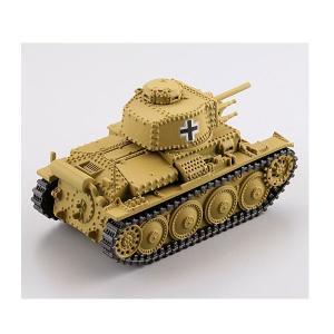 カプセルQミュージアム ワールドタンクデフォルメ ドイツ機甲師団編2 38(t)軽戦車 ダークイエロー|toyshopside3