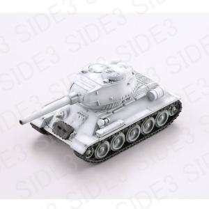 カプセルQ ワールドタンクデフォルメ 激闘 東部戦線編(ティーガーVS T-34) T34-85 冬季迷彩|toyshopside3