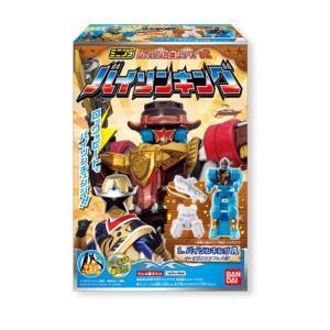 ミニプラ シュリケン合体シリーズ02 バイソンキング(手裏剣戦隊ニンニンジャー) 全4種セット|toyshopside3